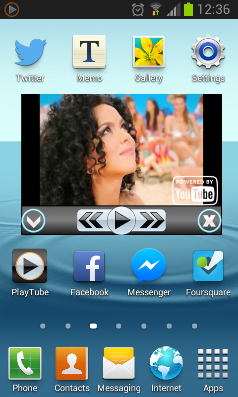 PlayTube for YouTube videos - screenshot