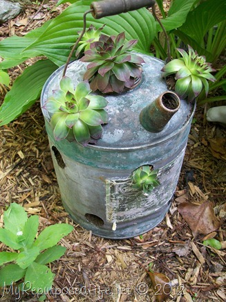 Repurposed Gas Can