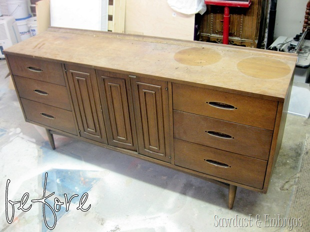 mid century modern furniture restoration. buffet before pic sawdust and embryos mid century modern furniture restoration r