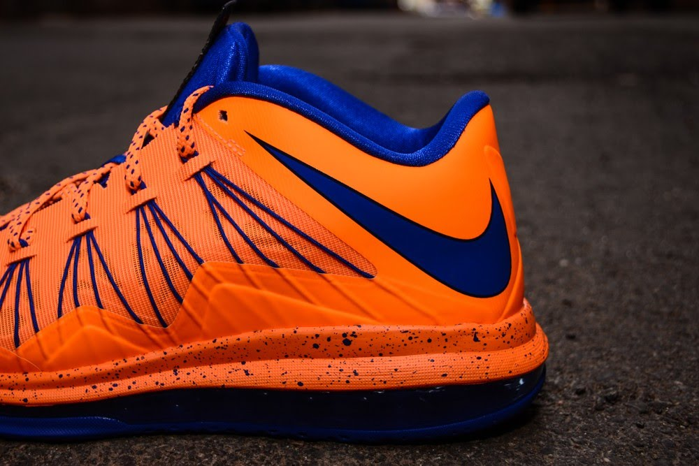 size 40 ed291 a041d ... Nike Air Max LeBron X Low 8220Knicks8221 Arriving at Retailers ...
