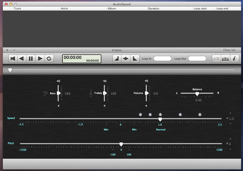 Mac Music Speed Slow Soft7