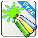Coloring and Paint icon