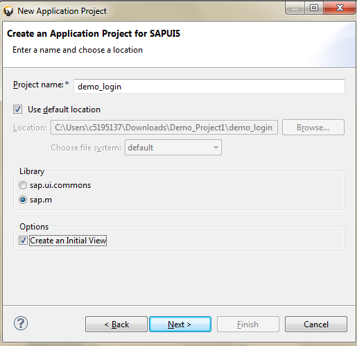 A Simple Login form using XML View - Team ABAP