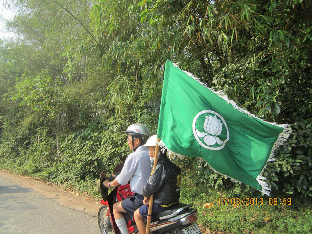 TraiDungThuaThioem2013 05 BHD GĐPT Thừa Thiên tổ chức Trại Dũng năm 2013