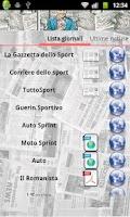 Screenshot of Sports Kiosk