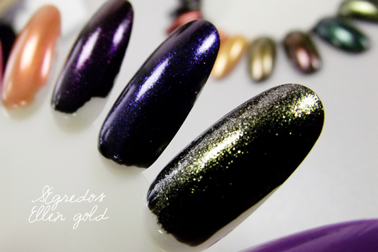 Ellen Gold Segredos - Swatches Mutantes