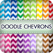 Doodle Chevrons Wallpapers