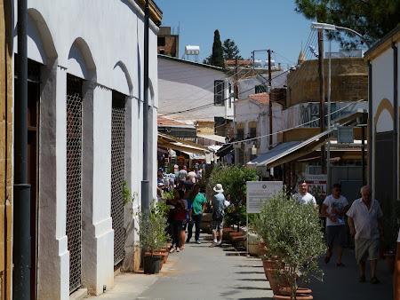 Intrare Nicosia de Nord, zona turca