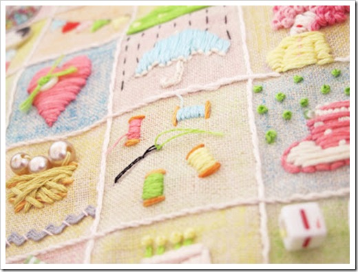 Amy Powers' Happy Go Lucky Stitchalong