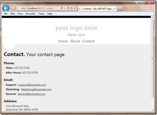 Contact-ASP.NETFriendlyURLsRedirection