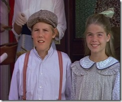 Kyle Labine as Davy Keith and Lindsay Murrel as Dora Keith in Road to Avonlea