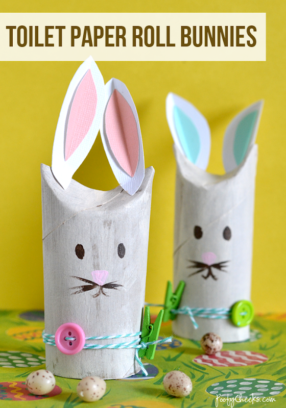 toilet paper roll easter craft baskets 5 fab easter crafts for and sew we craft 7920