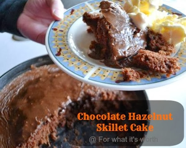 choclate_hazelnut_skillet_cake recipe