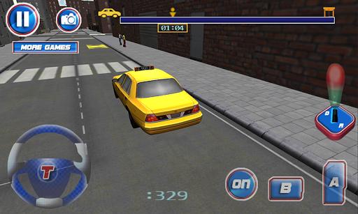 3D出租車司機模擬器