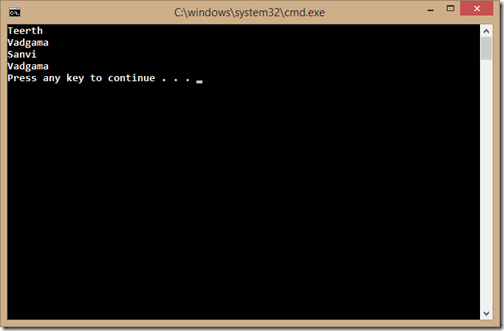 console-application-student-enumerable