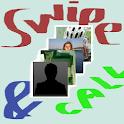 Swipe and Call icon