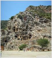 Ликийские гробницы. Демре. Турция. www.timeteka.ru