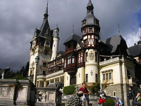 Obiective turistice Romania: Castelul Peles Sinaia