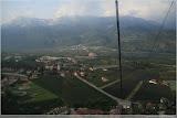 Apfelplantagen in Vilpiano
