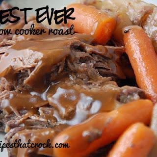 Best Ever Slow Cooker Roast.