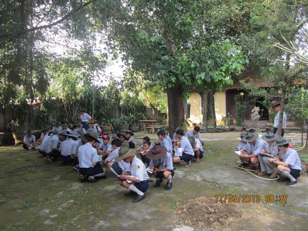 TraiDungThuaThioem2013 03 BHD GĐPT Thừa Thiên tổ chức Trại Dũng năm 2013