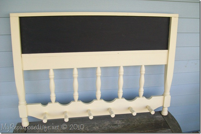 headboard upcycled