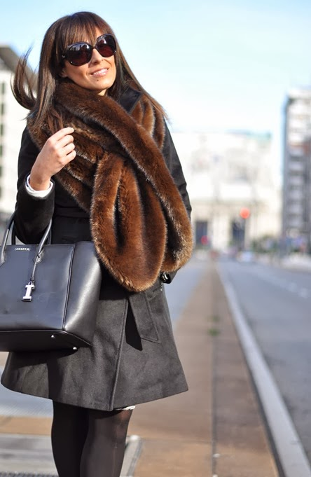 outfit, iceberg giuliana bag, collo di pelliccia, italian fashion bloggers, fashion bloggers, street style, zagufashion, valentina coco, i migliori fashion blogger italiani