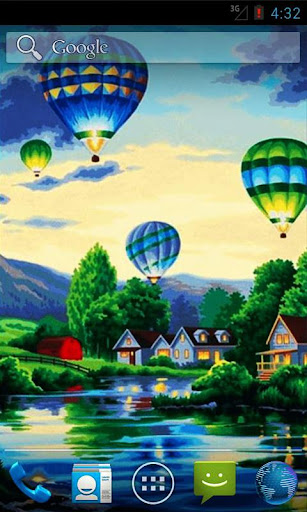 Air Balloons Live Wallpaper