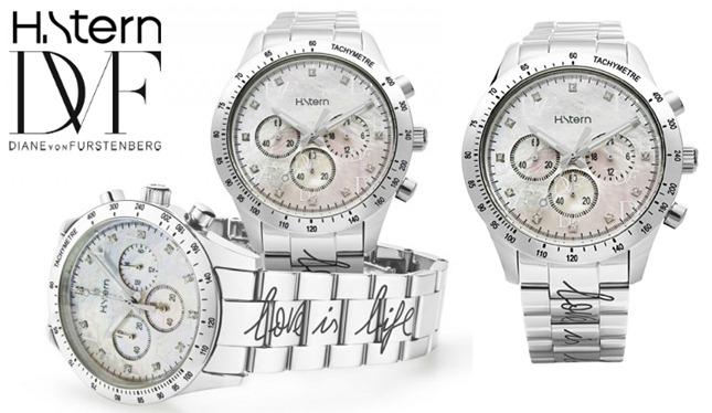 """a2472214e06 Novo relógio Diane Von Furstenberg e H.Stern chega às lojas – """"Power ..."""