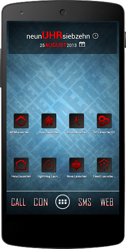 Apex Nova Semiotik Red Icons