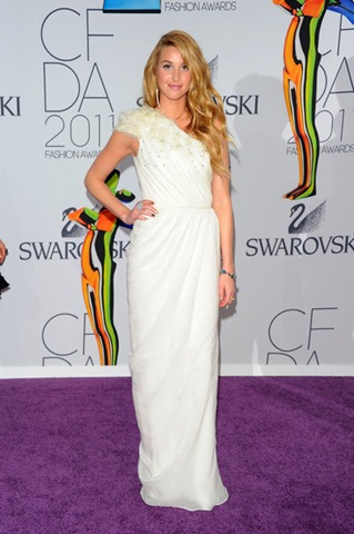 Whitney Port attends the 2011 CFDA Fashion Awards