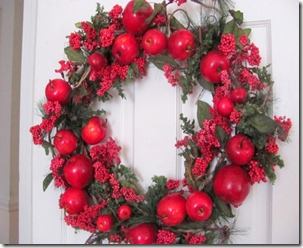 Wreaths apple