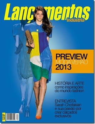 ... primavera-verão 2012 2013 são tema de destaque da edição de outubro da  revista Lançamentos Indústria. Cores, materiais e modelagens de calçados,  roupas, ... 4ae37994cd