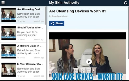 My Skin Authority- screenshot thumbnail