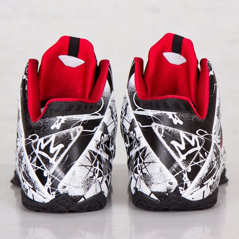 """One More Look at the Just Released """"Graffiti"""" Nike LeBron ...Lebron 11 Customize Ideas"""