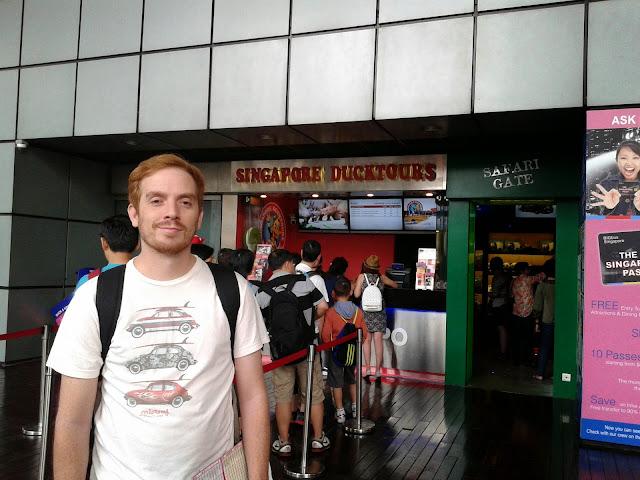 SIngapur Duck Tour