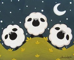 вытынанки к новому году овцы