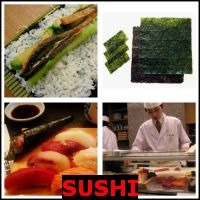 SUSHI- Whats The Word Answers