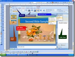 SIMPLE POWER POINT PRESENTATION USING MS-OFFICE 2007