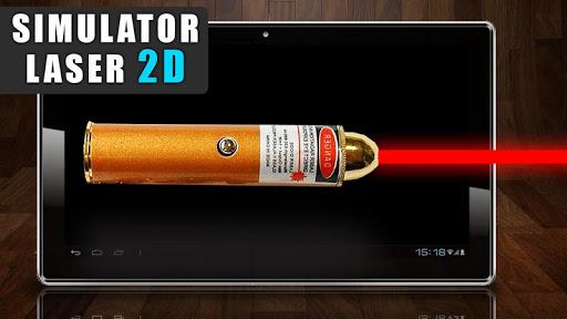 模拟激光2 D