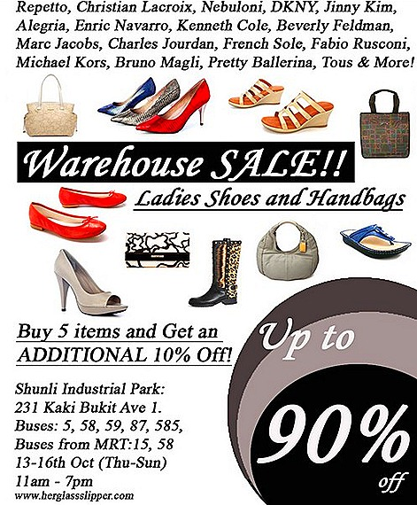 herglassslipper.com warehouse sale