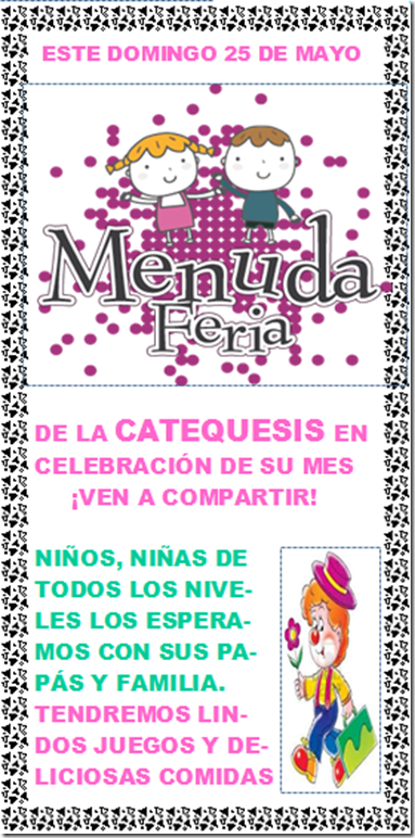 Fiesta catequesis