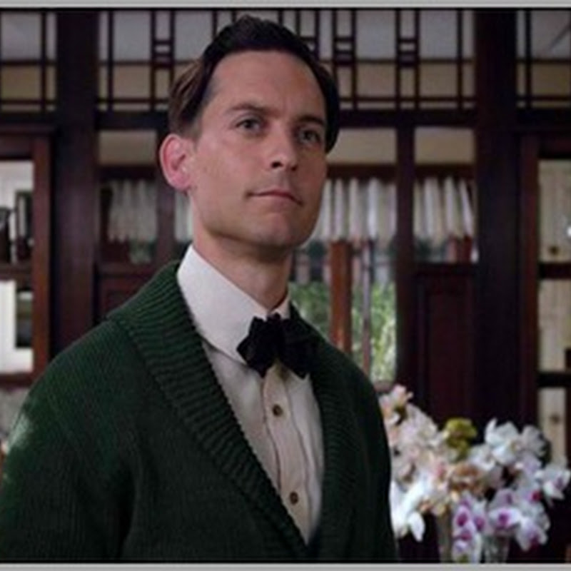 "Tobey Maguire an Intriguing Outsider in ""The Great Gatsby"""