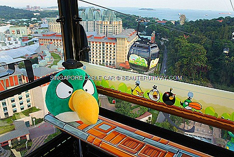 ANGRY BIRDS SINGAPORE CABLE CAR RIDE MOUNT FABER SENTOSA WORLD FIRST ADVENTURE GAME activities attractions face mask mocktail limited edition tumbler ipad booths pigs egg painting activities balloon sculpting adults kids children