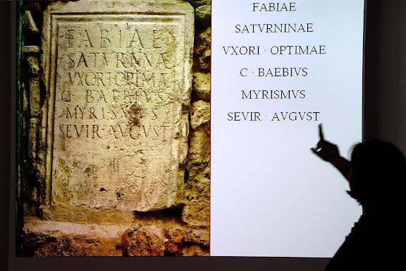 Les veus de les pedres, conferència de Diana Gorostidi, investigadora ICAC.Tàrraco Viva, el festival romà de Tarragona.Tarragona, Tarragonès, Tarragona