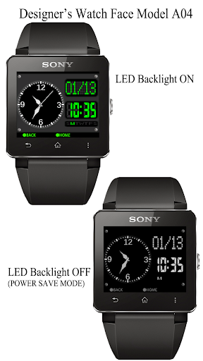 A04 WatchFace for SmartWatch2