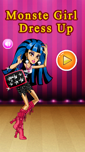 Monster Girl Dress Up Game