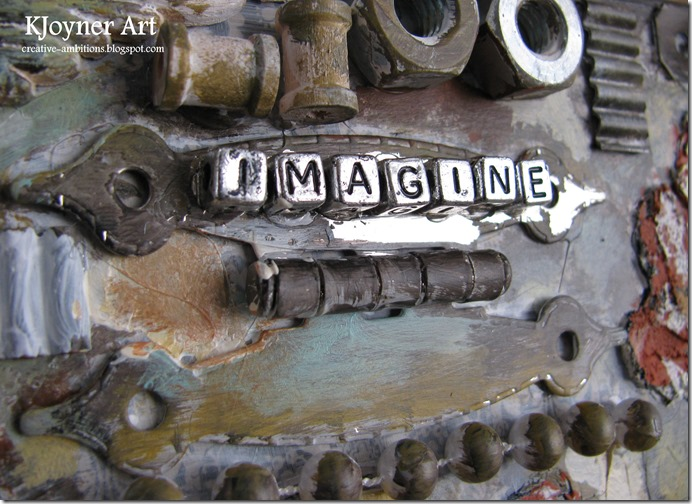 Imagine Mixed Media Art