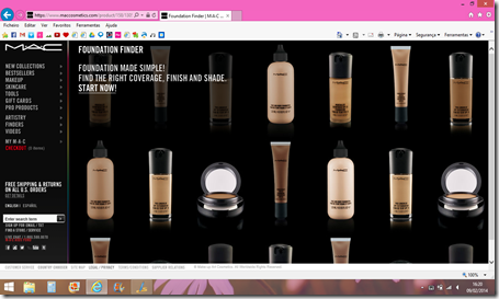 Foundation Finder da MAC