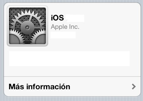 Actualizar iphone ipad a iOS 6